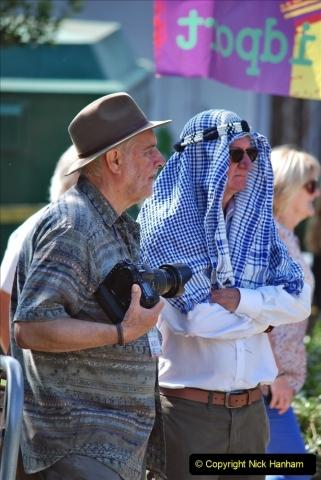 2021-09-04 Bridport Hat Festival. (201) On the Green. 201