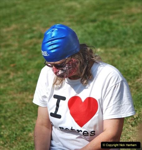 2021-09-04 Bridport Hat Festival. (205) On the Green. 205