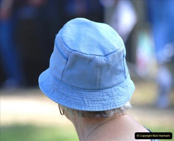 2021-09-04 Bridport Hat Festival. (206) On the Green. 206