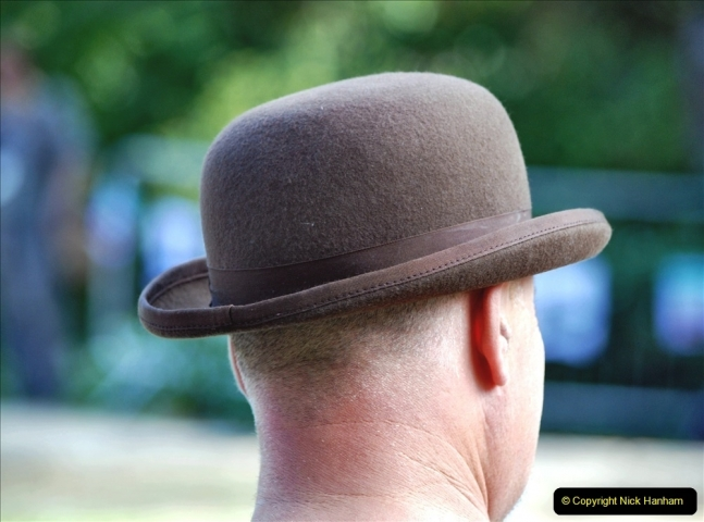 2021-09-04 Bridport Hat Festival. (208) On the Green. 208