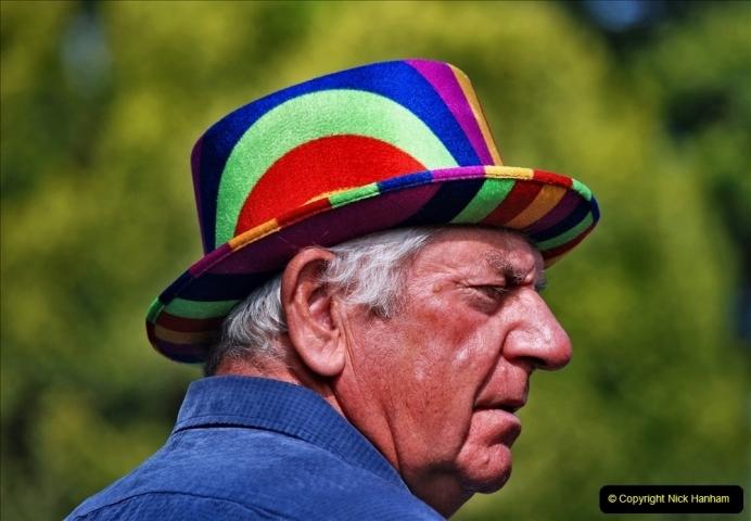 2021-09-04 Bridport Hat Festival. (209) On the Green. 209