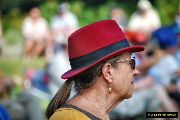 2021-09-04 Bridport Hat Festival. (211) On the Green. 211