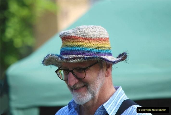 2021-09-04 Bridport Hat Festival. (212) On the Green. 212