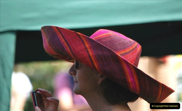 2021-09-04 Bridport Hat Festival. (213) On the Green. 213