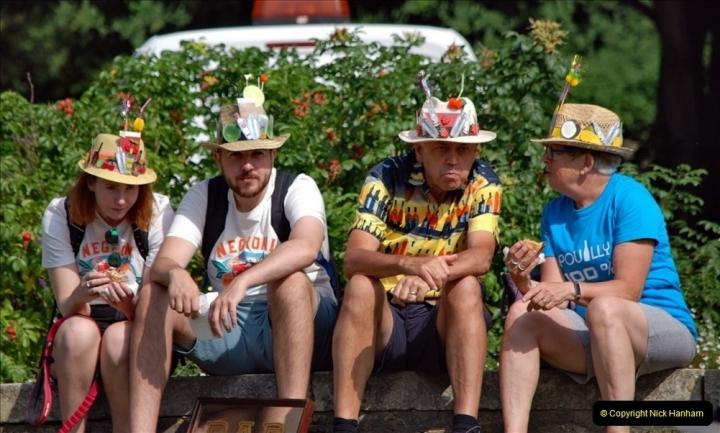 2021-09-04 Bridport Hat Festival. (216) On the Green. 216