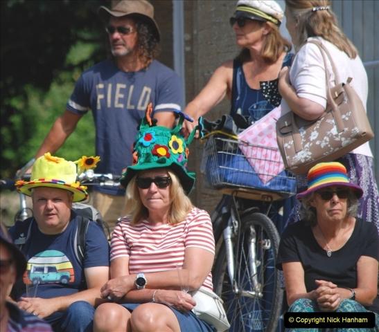 2021-09-04 Bridport Hat Festival. (217) On the Green. 217