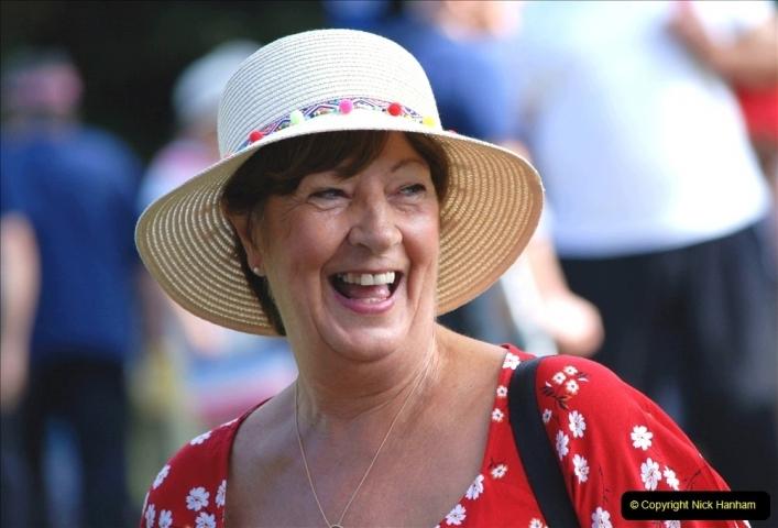 2021-09-04 Bridport Hat Festival. (223) On the Green. 223