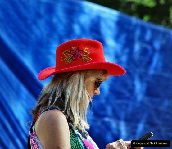 2021-09-04 Bridport Hat Festival. (224) On the Green. 224
