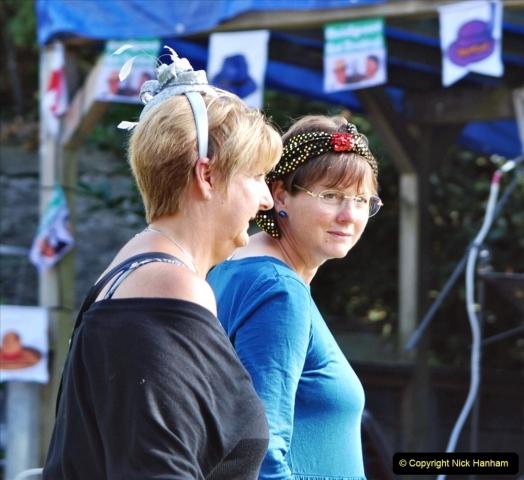 2021-09-04 Bridport Hat Festival. (225) On the Green. 225