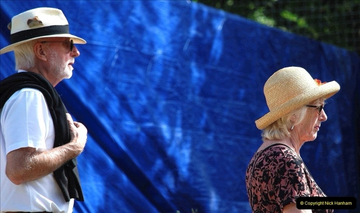 2021-09-04 Bridport Hat Festival. (226) On the Green. 226