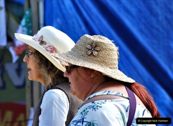 2021-09-04 Bridport Hat Festival. (227) On the Green. 227