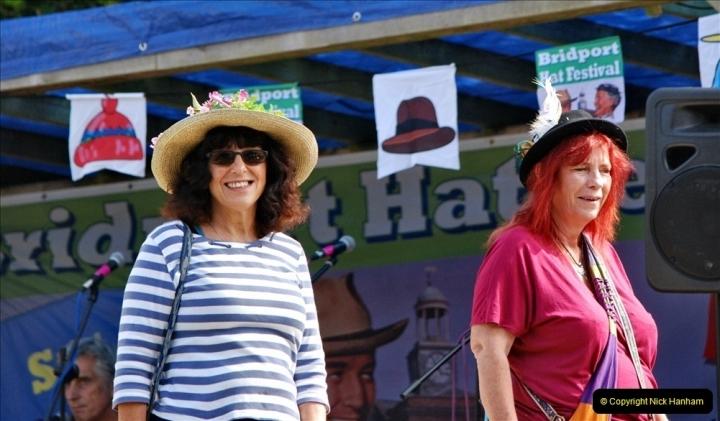 2021-09-04 Bridport Hat Festival. (229) On the Green. 229