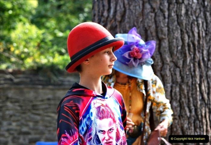 2021-09-04 Bridport Hat Festival. (234) On the Green. 234