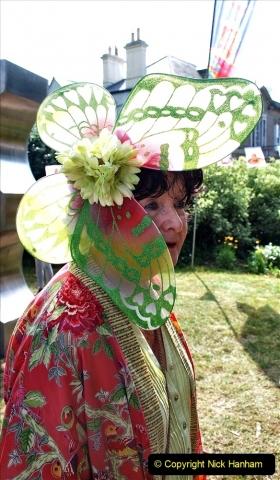 2021-09-04 Bridport Hat Festival. (236) On the Green. 236