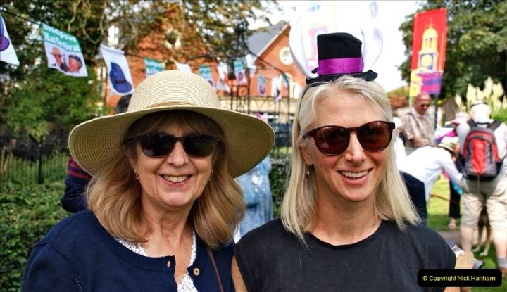 2021-09-04 Bridport Hat Festival. (238) On the Green. 238