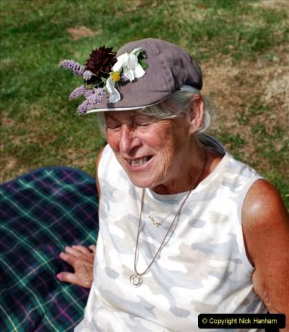 2021-09-04 Bridport Hat Festival. (241) On the Green. 241