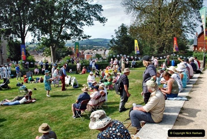 2021-09-04 Bridport Hat Festival. (244) On the Green. 244