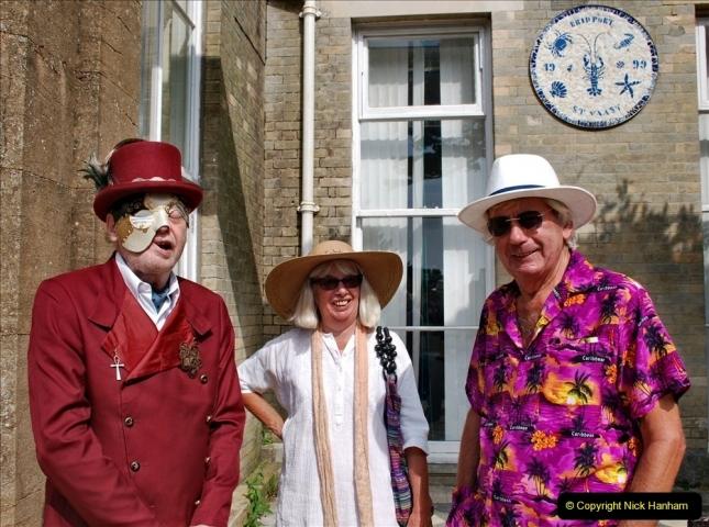 2021-09-04 Bridport Hat Festival. (246) On the Green. 246