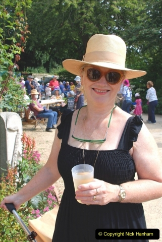 2021-09-04 Bridport Hat Festival. (249) On the Green. 249