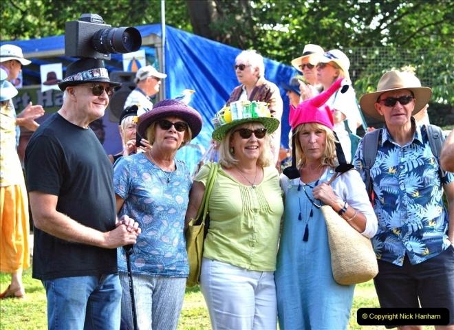 2021-09-04 Bridport Hat Festival. (254) On the Green. 254