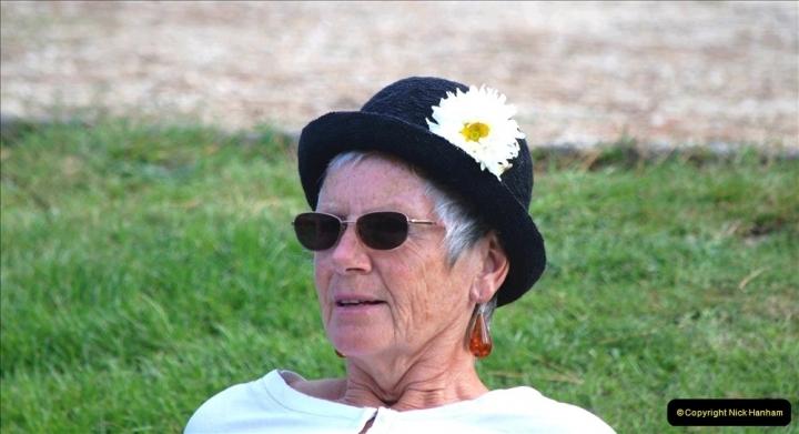2021-09-04 Bridport Hat Festival. (255) On the Green. 255
