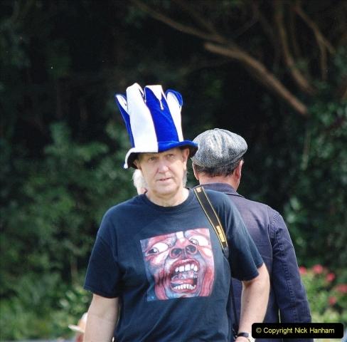 2021-09-04 Bridport Hat Festival. (257) On the Green. 257