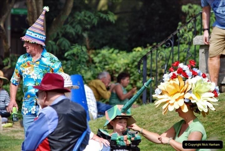 2021-09-04 Bridport Hat Festival. (261) On the Green. 261