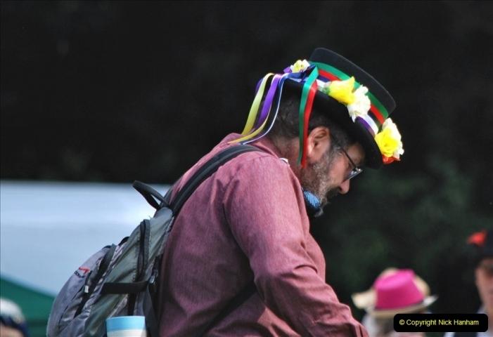 2021-09-04 Bridport Hat Festival. (266) On the Green. 266