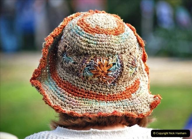2021-09-04 Bridport Hat Festival. (267) On the Green. 267