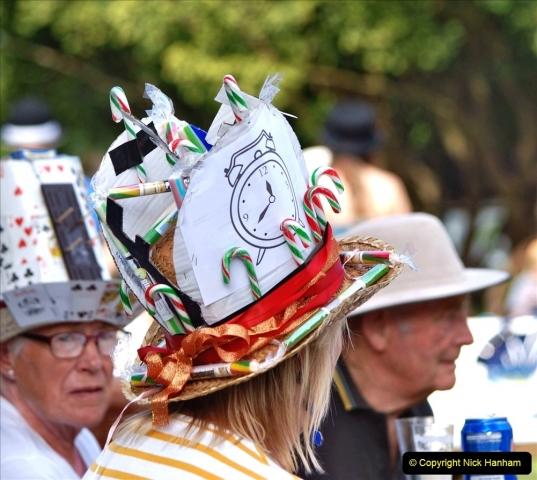 2021-09-04 Bridport Hat Festival. (268) On the Green. 268