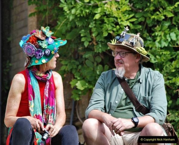 2021-09-04 Bridport Hat Festival. (270) On the Green. 270