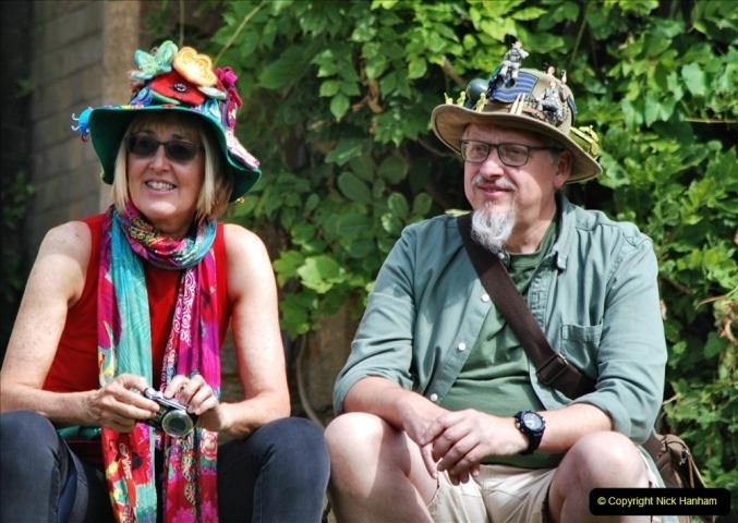 2021-09-04 Bridport Hat Festival. (271) On the Green. 271