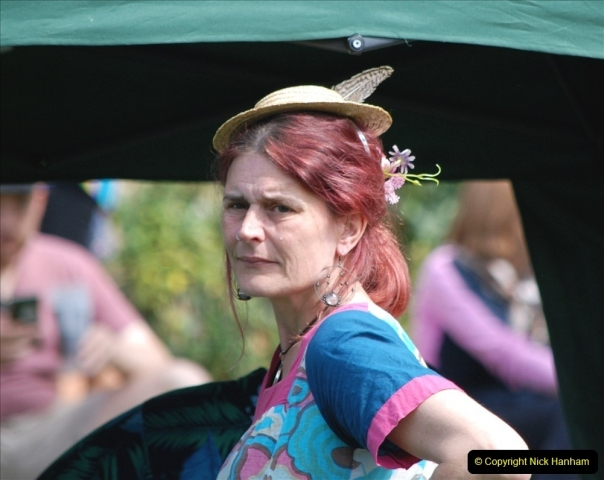 2021-09-04 Bridport Hat Festival. (272) On the Green. 272