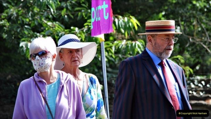 2021-09-04 Bridport Hat Festival. (274) On the Green. 274