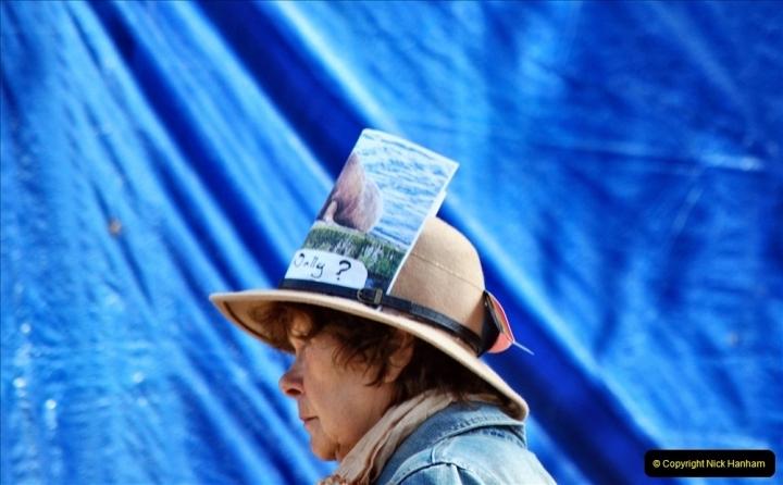 2021-09-04 Bridport Hat Festival. (275) On the Green. 275