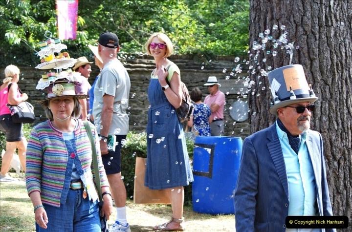 2021-09-04 Bridport Hat Festival. (278) On the Green. 278