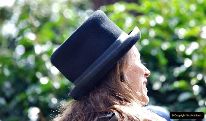 2021-09-04 Bridport Hat Festival. (279) On the Green. 279