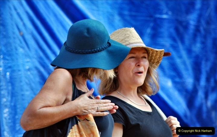 2021-09-04 Bridport Hat Festival. (280) On the Green. 280