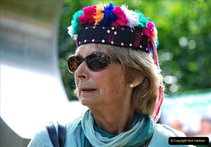 2021-09-04 Bridport Hat Festival. (281) On the Green. 281