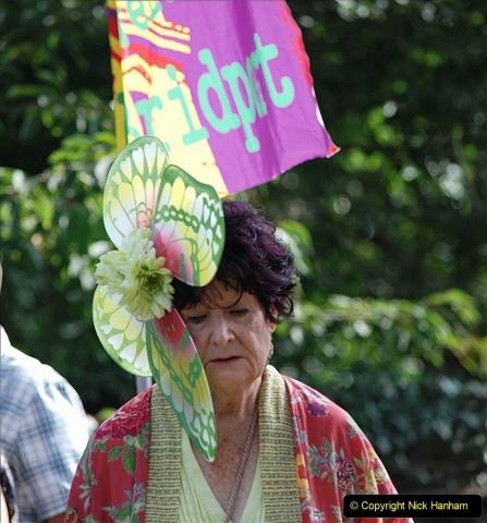 2021-09-04 Bridport Hat Festival. (282) On the Green. 282