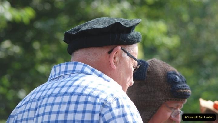 2021-09-04 Bridport Hat Festival. (287) On the Green. 287