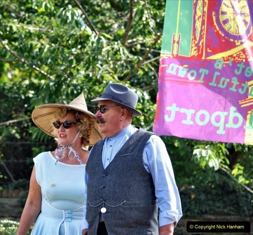 2021-09-04 Bridport Hat Festival. (288) On the Green. 288