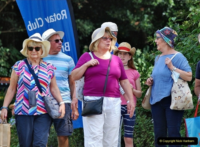 2021-09-04 Bridport Hat Festival. (289) On the Green. 289