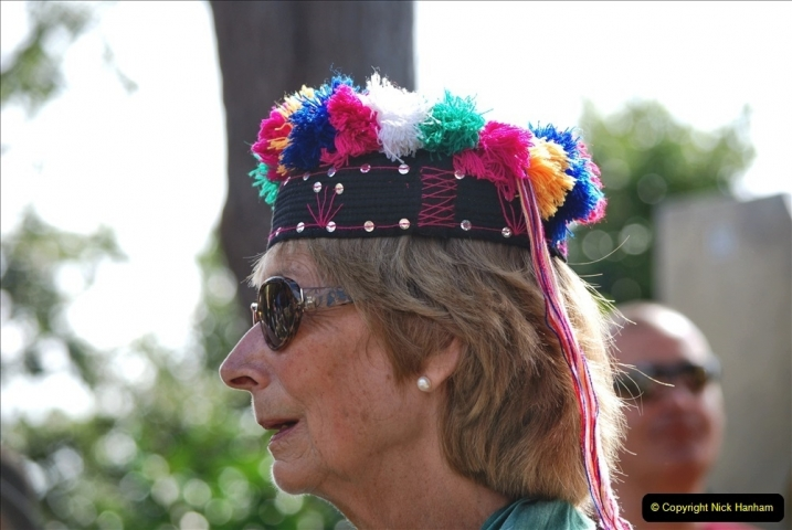 2021-09-04 Bridport Hat Festival. (293) On the Green. 293
