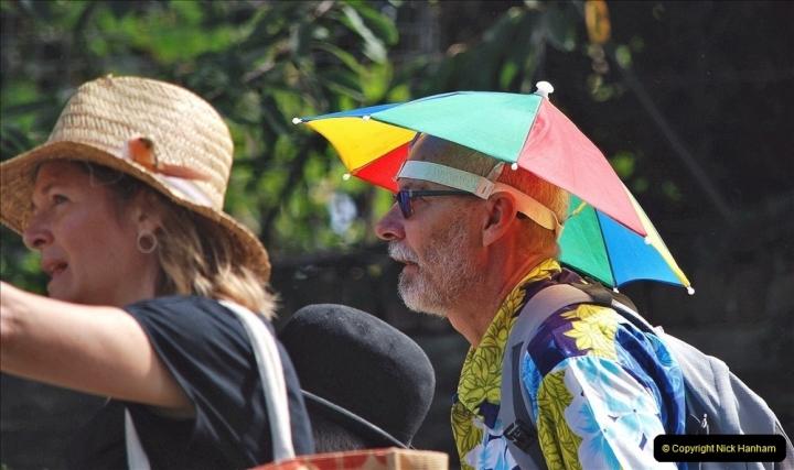 2021-09-04 Bridport Hat Festival. (298) On the Green. 298