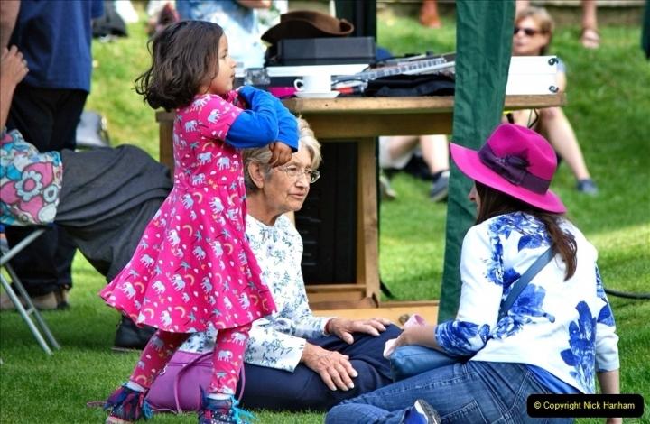 2021-09-04 Bridport Hat Festival. (301) On the Green. 301