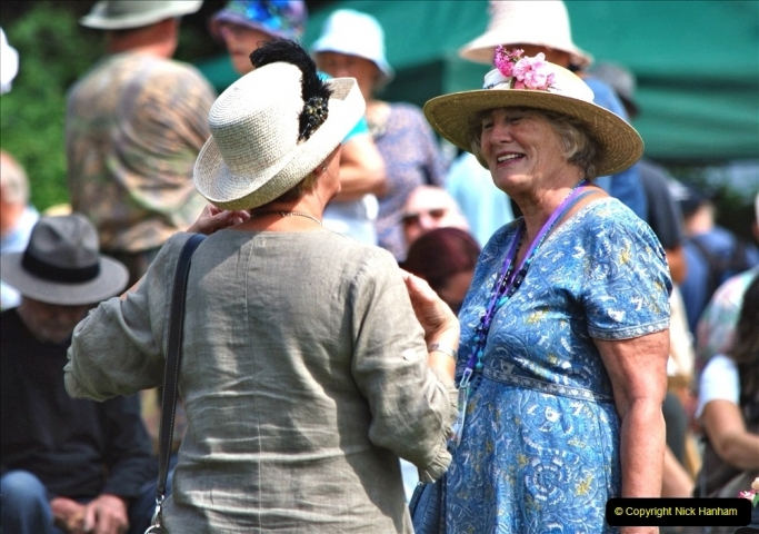 2021-09-04 Bridport Hat Festival. (302) On the Green. 302