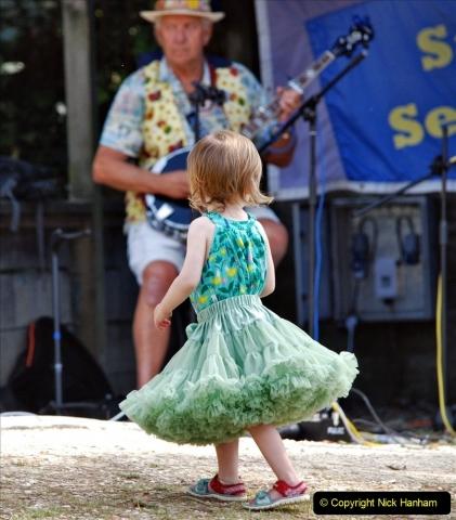 2021-09-04 Bridport Hat Festival. (303) On the Green. 303