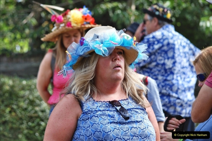 2021-09-04 Bridport Hat Festival. (306) On the Green. 306