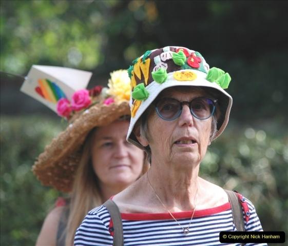 2021-09-04 Bridport Hat Festival. (307) On the Green. 307